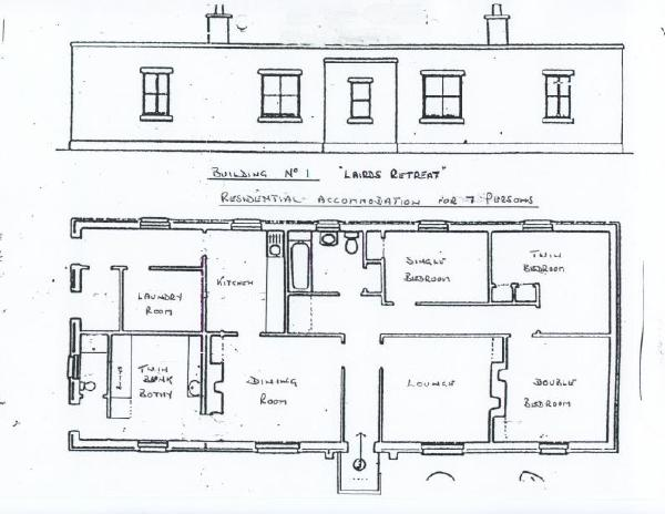 Lairds Retreat Floor Plan